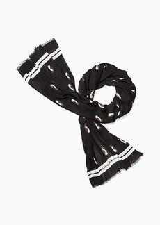 Kate Spade penguin oblong scarf