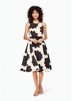 petal stamp dress