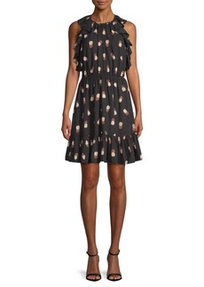 Kate Spade Pineapple-Print Sheath Dress