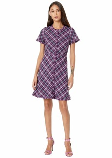 Kate Spade Plaid Tweed Dress
