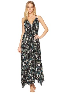 Kate Spade Playa Carmen Halter Maxi Dress Cover-Up
