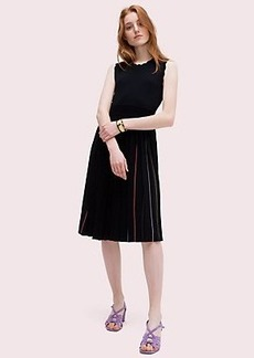 Kate Spade pleated sweater dress