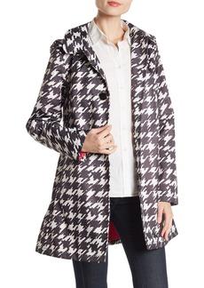 Kate Spade print rainwear trench coat
