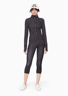 Kate Spade polka dot scallop jacket