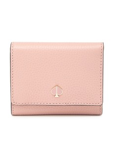 Kate Spade polly small trifold leather wallet
