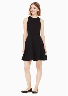 Kate Spade ponte fit and flare dress