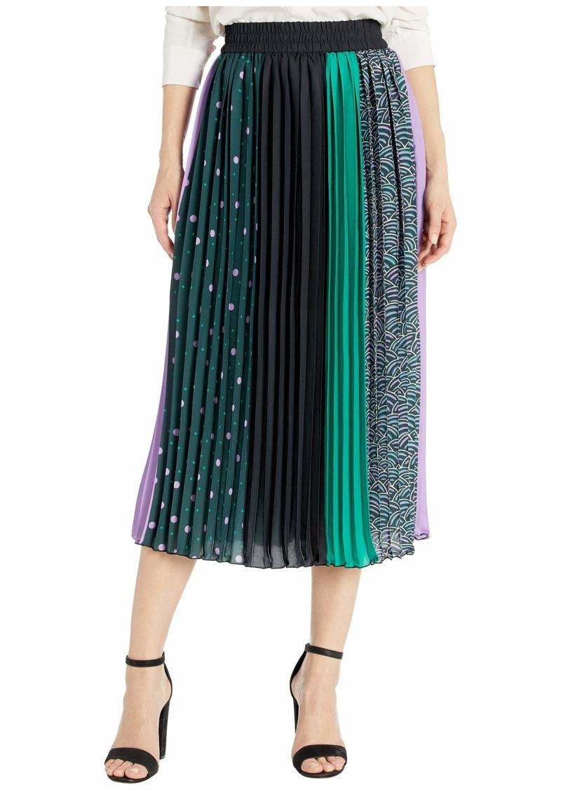 Kate Spade Pop Dots Print Mix Skirt