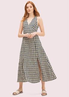 Kate Spade Pop Tweed Halter Dress