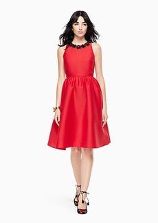 Kate Spade poppy embellished dress