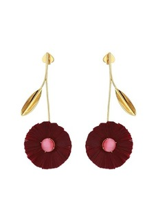 Kate Spade Posh Poppy Statement Earrings