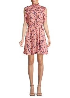 Kate Spade Prairie Rose Flutter Mini Dress