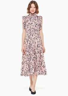 Kate Spade prairie rose flutter dress