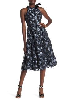 Kate Spade prairie rose print velvet dress