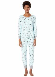 Kate Spade Printed Jogger Pajama Set