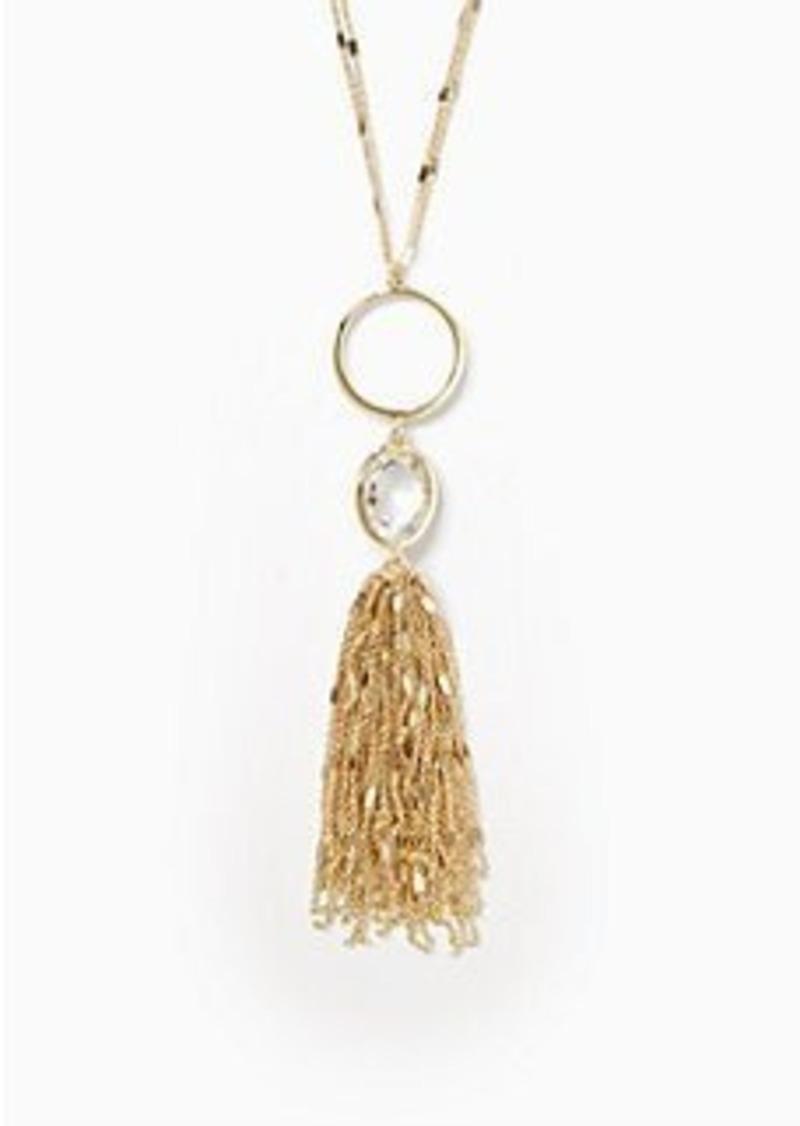 kate spade quartz cascade pendant jewelry shop it to me