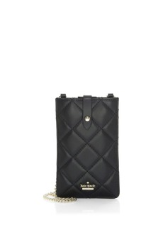 Kate Spade Quilted Leather Phone Crossbody Case