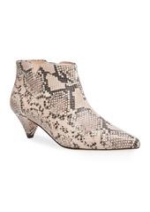 Kate Spade raelyn snake-print booties
