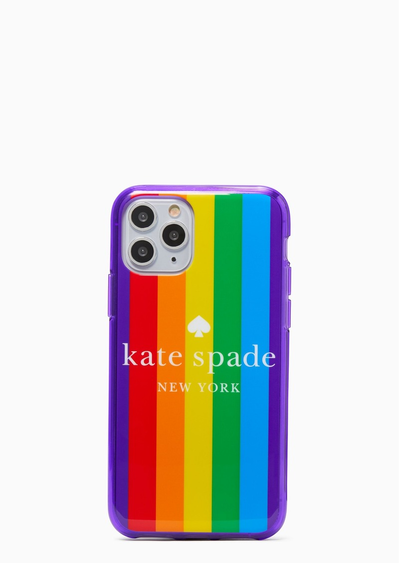 rainbow logo iphone 11 pro case