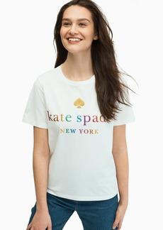 Kate Spade rainbow tee