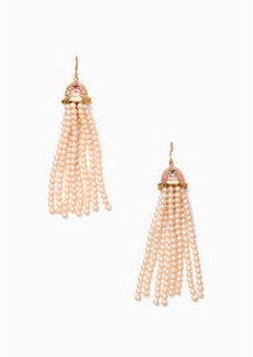Kate Spade rambling roses lantern earrings