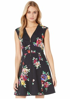 Kate Spade Rare Roses Poplin Dress