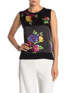 Kate Spade rare roses sleeveless top