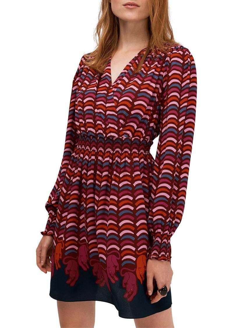 Kate Spade rawr smocked dress