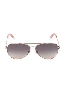 Kate Spade Reatha 59MM Aviator Sunglasses