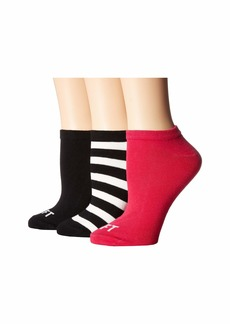 Kate Spade Right Left 3-Pack No Show Socks