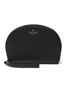 Kate Spade rima round leather wristlet pouch