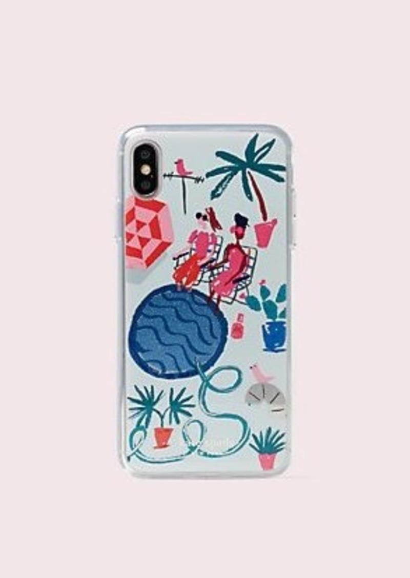 Kate Spade rooftop stunning iphone xs max case