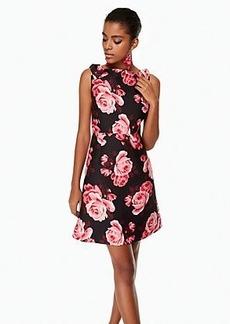 Kate Spade rosa a-line dress