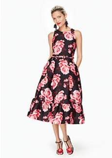 rosa flounce dress