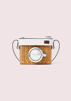 Kate Spade rose camera bag
