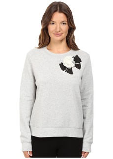 Kate Spade Rosette Bow Sweatshirt