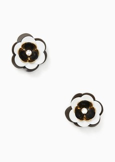 Kate Spade rosy posies statement studs