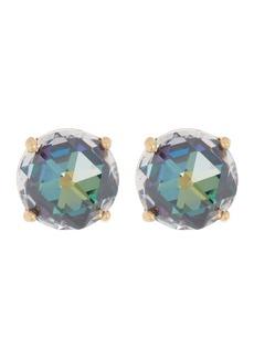 Kate Spade round CZ stud earrings