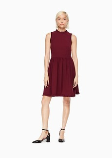 Kate Spade ruffle fit and flare dress