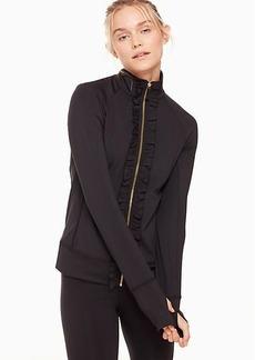 Kate Spade ruffle jacket