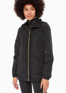 Kate Spade ruffle anorak with vest