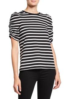Kate Spade sailing stripe cotton tee