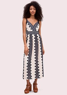 Kate Spade sand dune lace midi dress