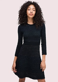 Kate Spade scallop shine sweater dress