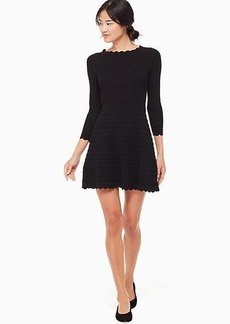 Kate Spade scallop sweater dress