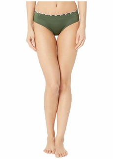 Kate Spade Scallop Wave Contrast Scalloped Hipster Bottoms