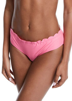 Kate Spade scalloped hipster swim bottom
