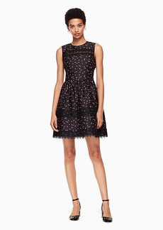 Kate Spade scatter dot mikado dress