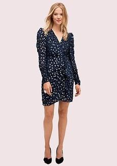 Kate Spade scatter dot velvet dress