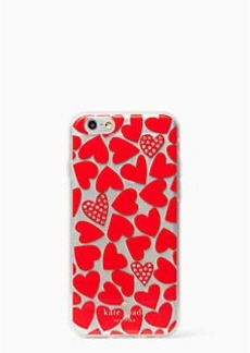Kate Spade scattered hearts iphone 6 case