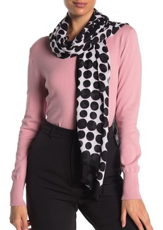 Kate Spade seasonless dot print oblong scarf